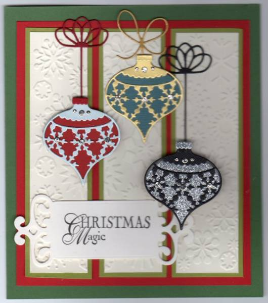 Ornament Memory Box By Jelleybean1 At Splitcoaststampers