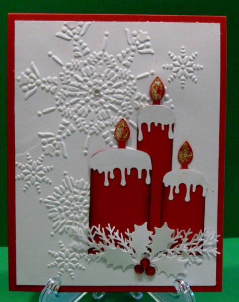 Christmas Candles By Raindear At Splitcoaststampers