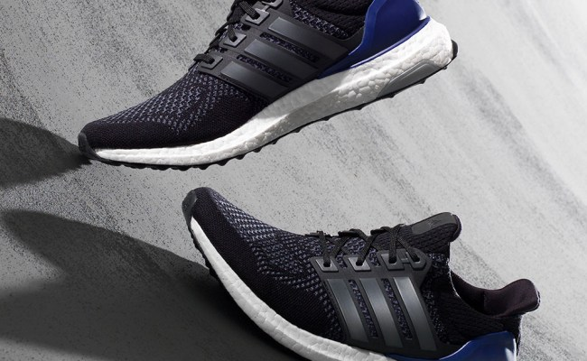 Adidas Ultra Boost Mens Black Breathable Running Trainers