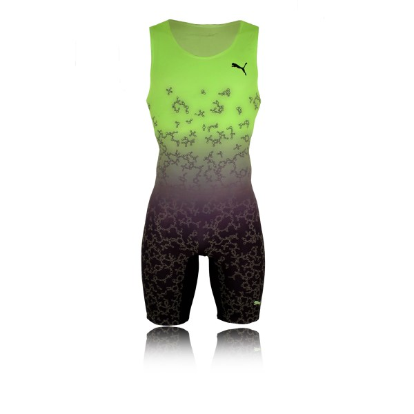 Running Shoes Green Men's Outfits