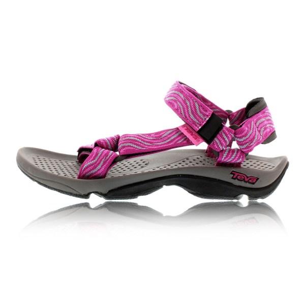 Teva Hurricane 3 Womens Pink Hiking Walking Sandals Flip Flops Summer Shoes