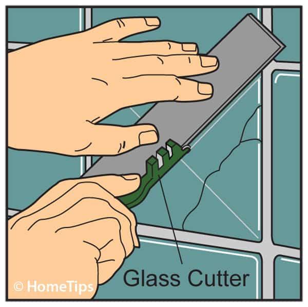 how to repair ceramic tile grout