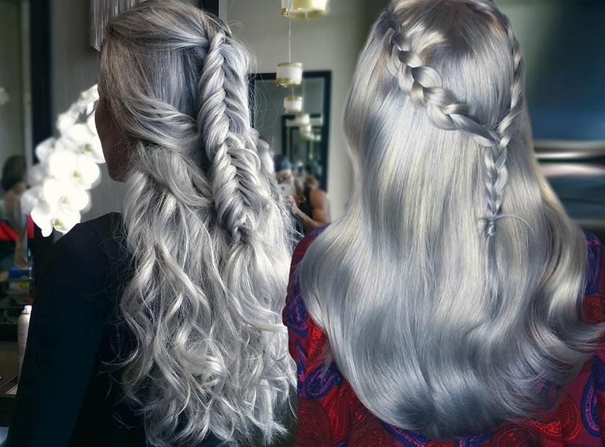 85 silver hair color