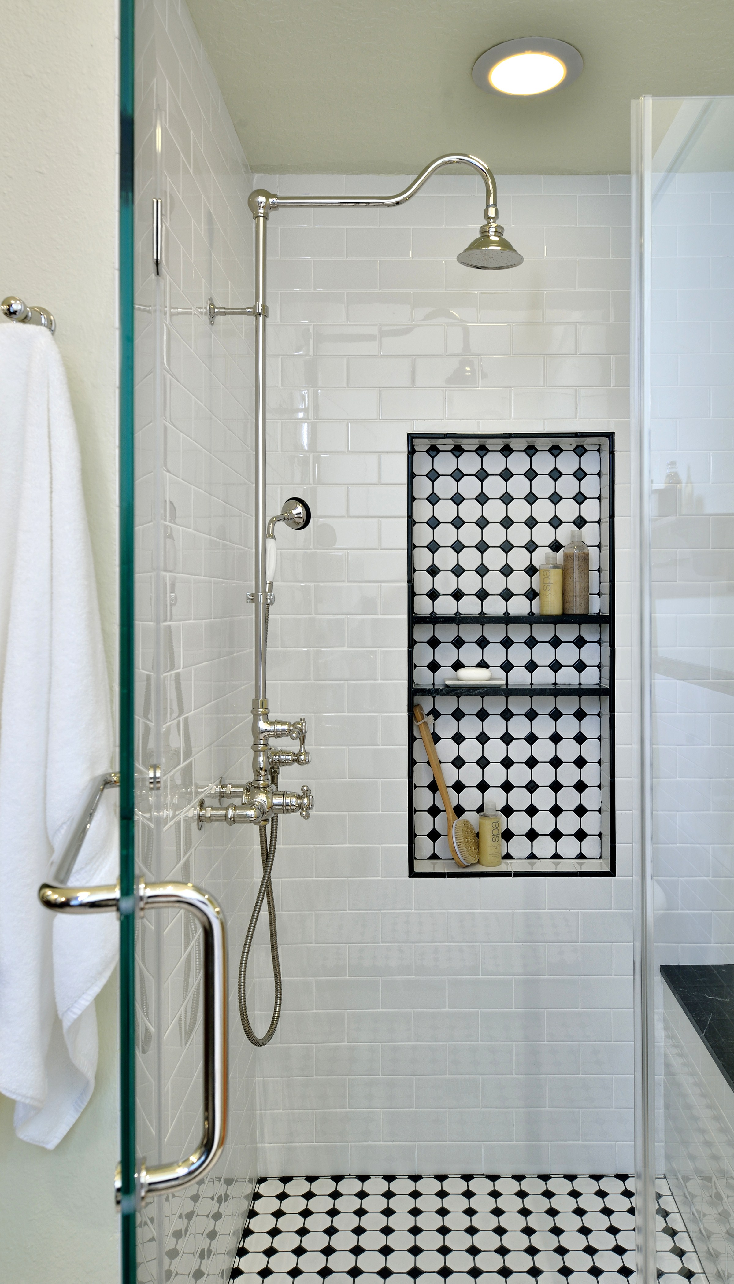 before after this vintage inspired master bathroom is an instant classic designed
