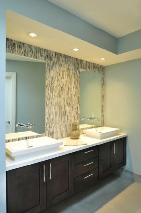 Backsplash Advice For Your Bathroom Would You Tile The Side Walls Too Designed