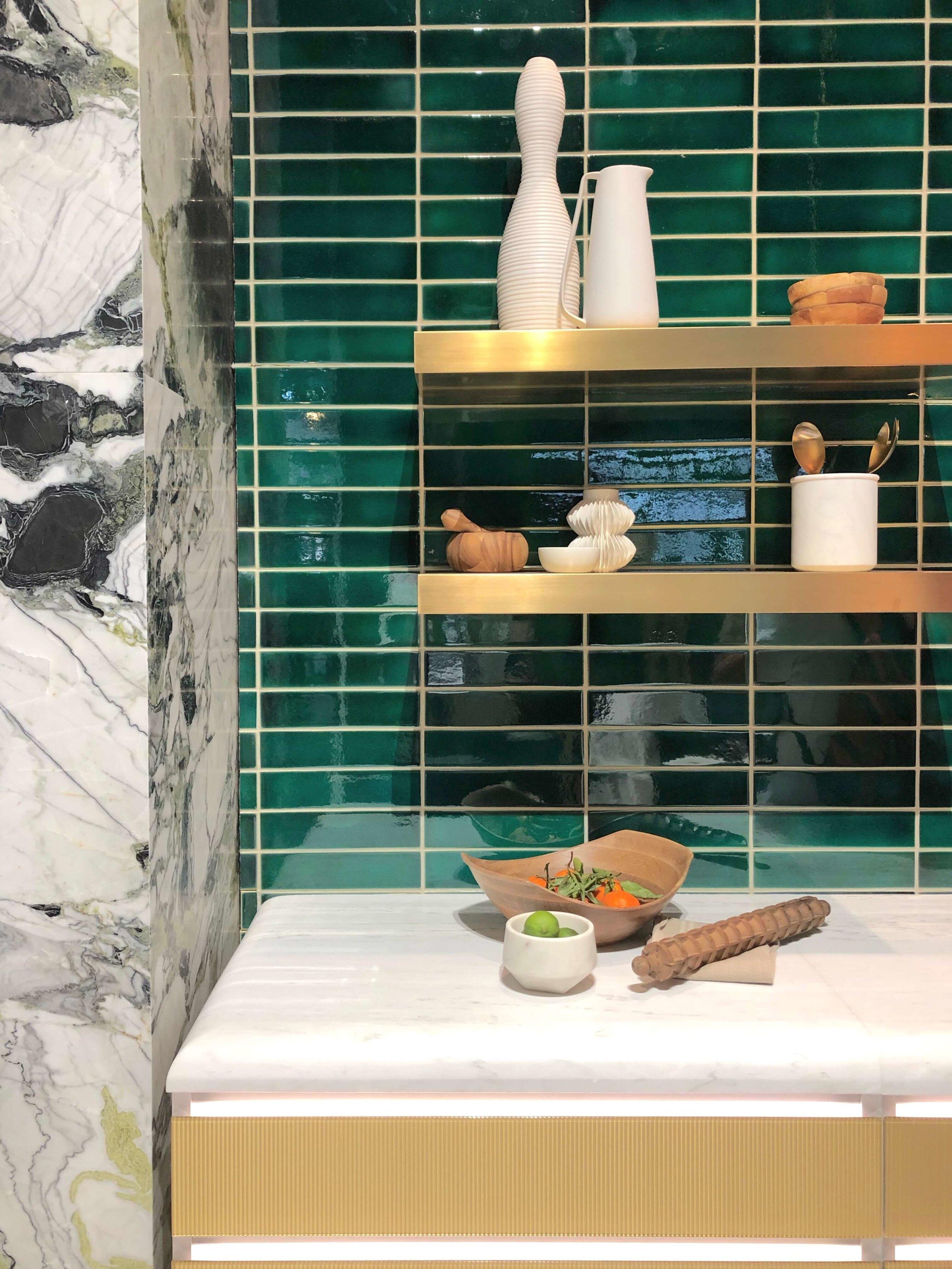 tile countertops shower enclosures