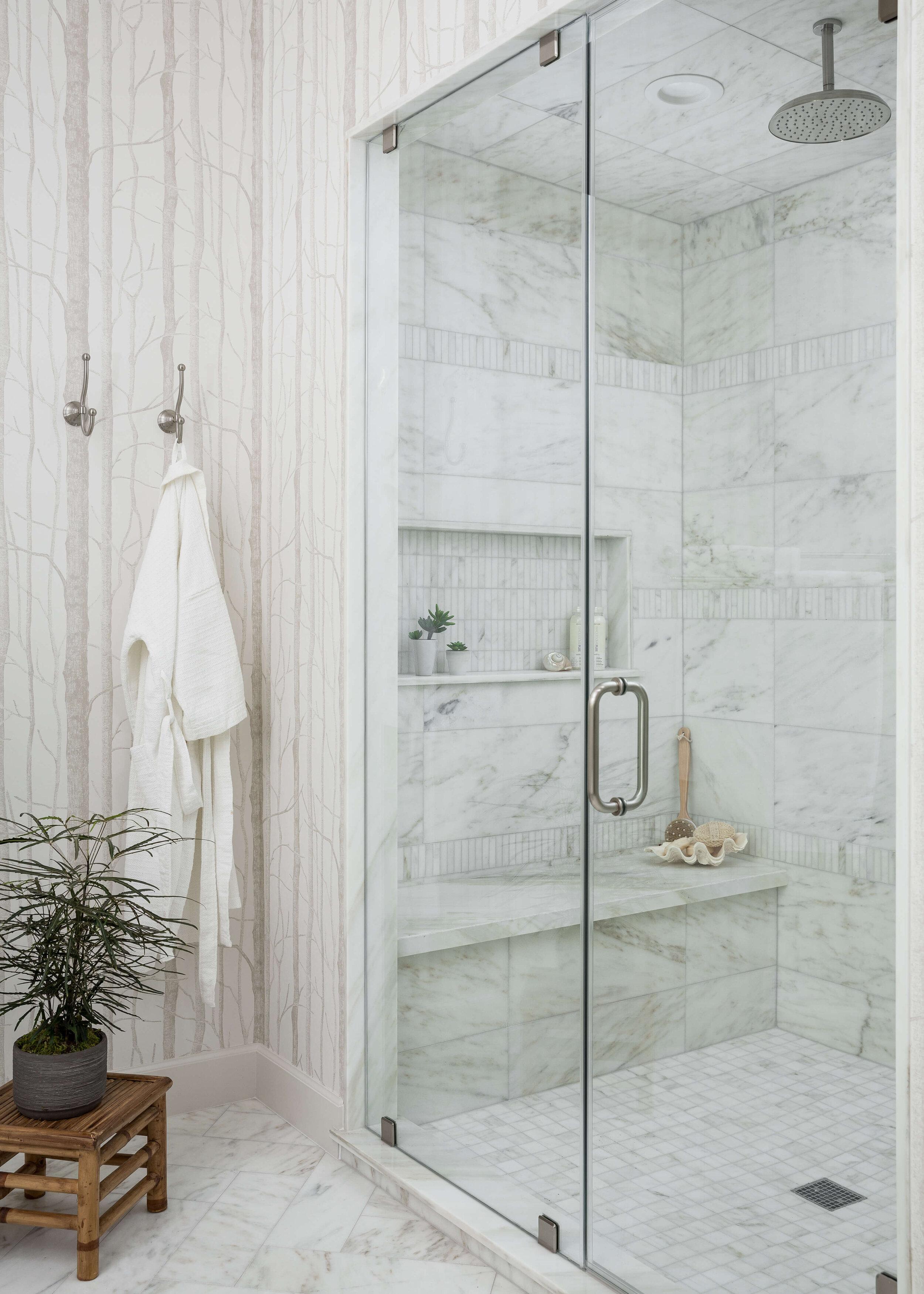 25 beautiful shower niche ideas for