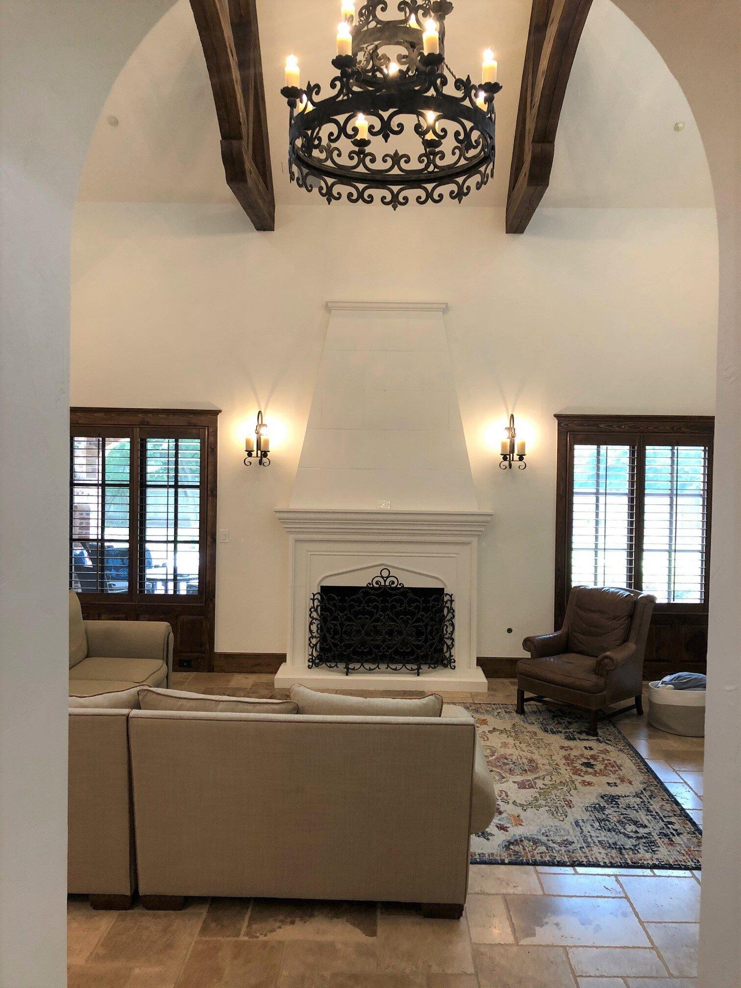 Modern Tuscan Living Room : modern, tuscan, living, Update, Tuscan, Style, Fresh,, Look!, DESIGNED