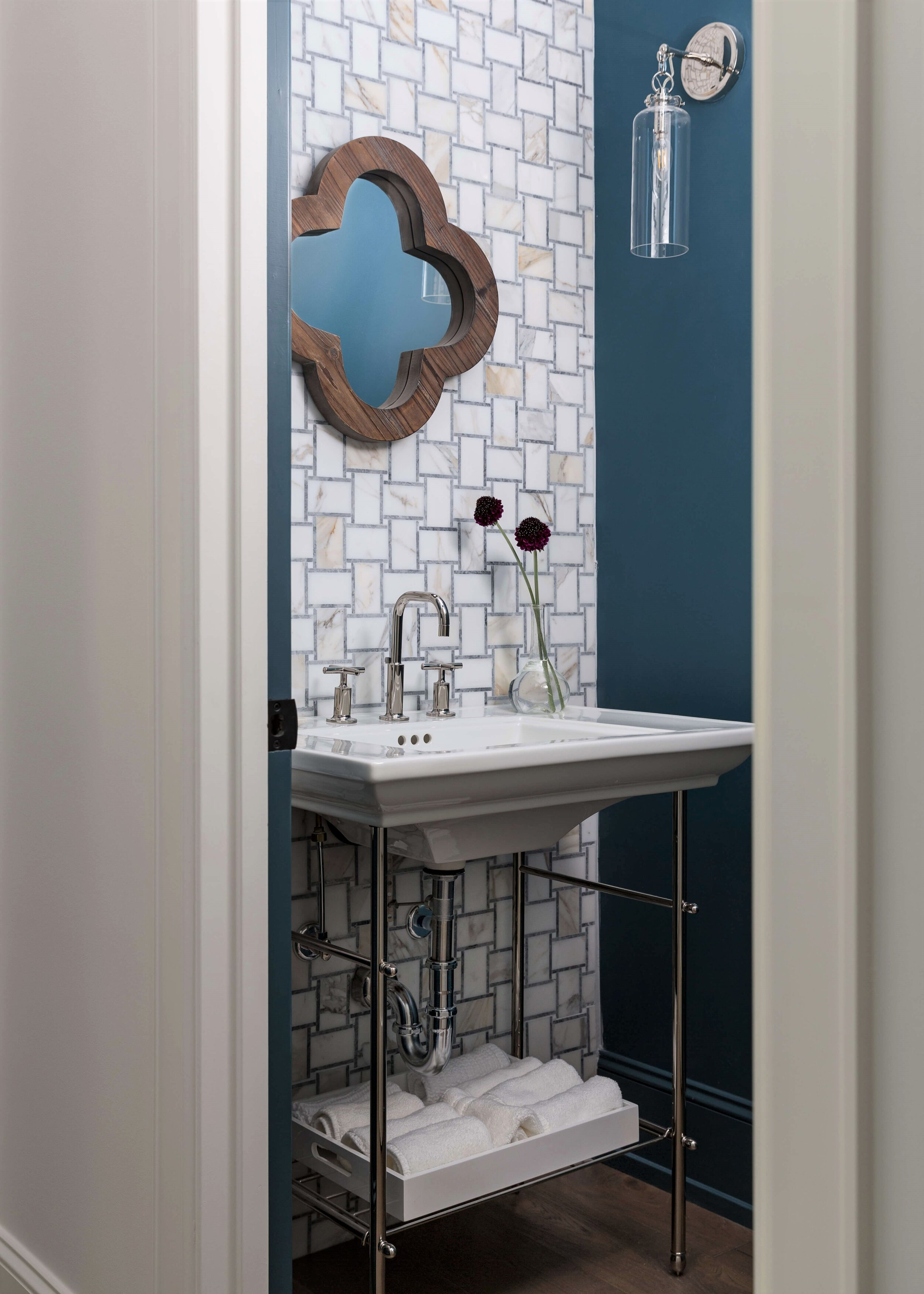 3 bathrooms with fun tile and fabulous