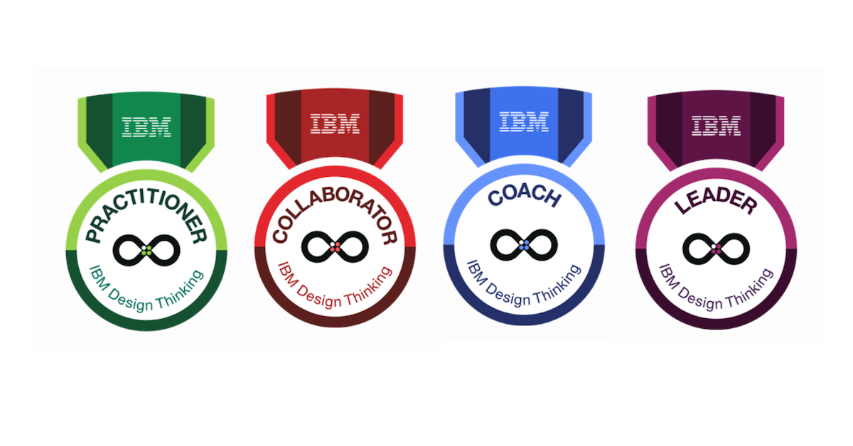 ibm design thinking badges