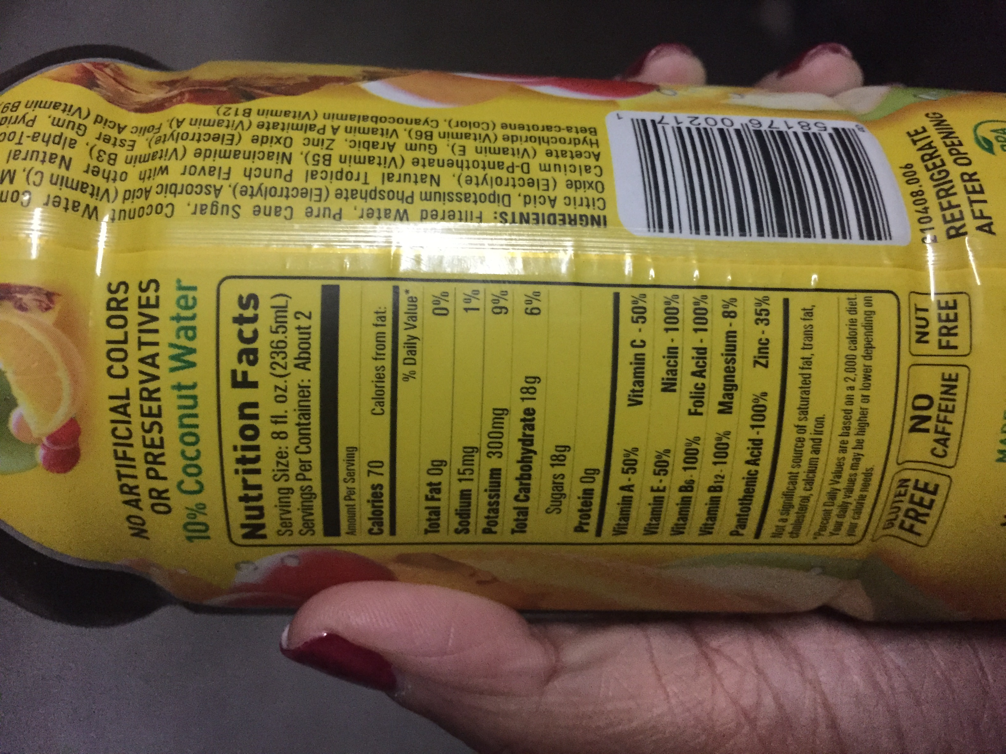 Body Armor Drink Nutrition Label : armor, drink, nutrition, label, Armor, Drink, Nutrition, Label, Labels, Design, Ideas