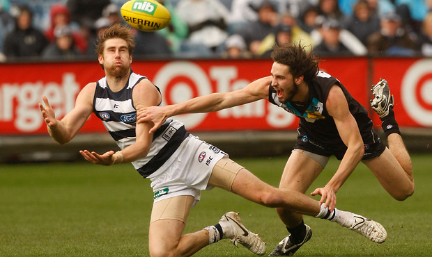 Geelong Vs Port Adeliade