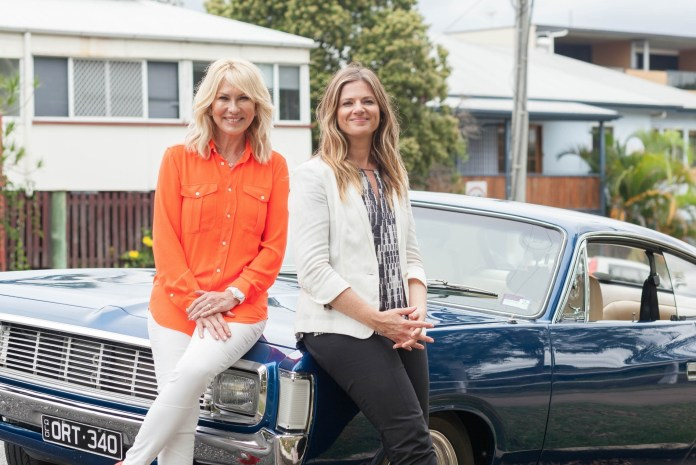 Kerri-Anne Kennerley with Julia Zemiro image - supplied/ABCTV