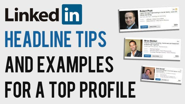 LinkedIn Headline Tips and Examples 29  How to Write A Great