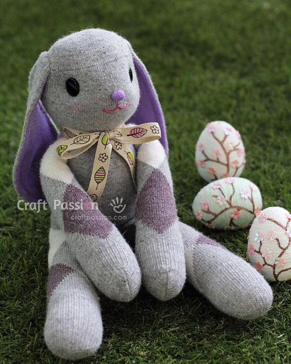 Stuffed Bunny Pattern : stuffed, bunny, pattern, Sewing, Patterns, Bunnies!!!, SewCanShe, Tutorials