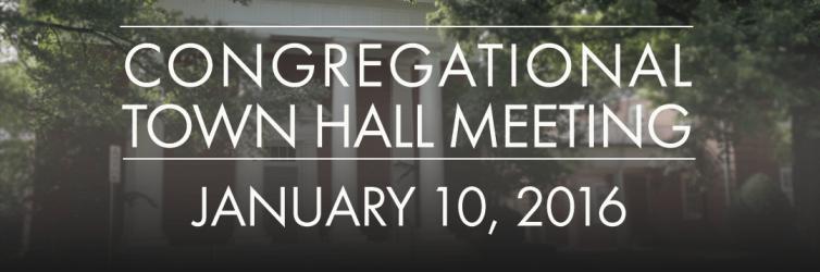 Church Town Hall Meeting