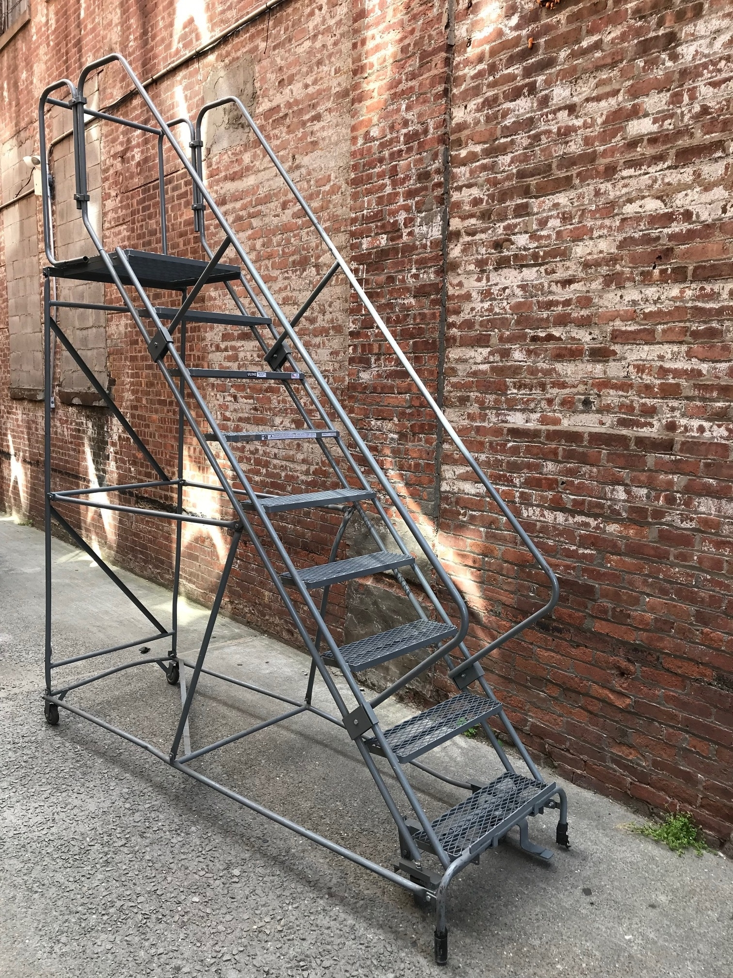 Ladders Stairs — Primate Props | Metal Fire Escape Stairs For Sale | Low Poly | Stair Treads | Building | Wrought Iron | Bim Cad