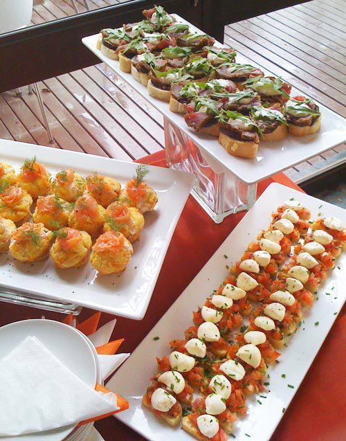 summer buffet menu food