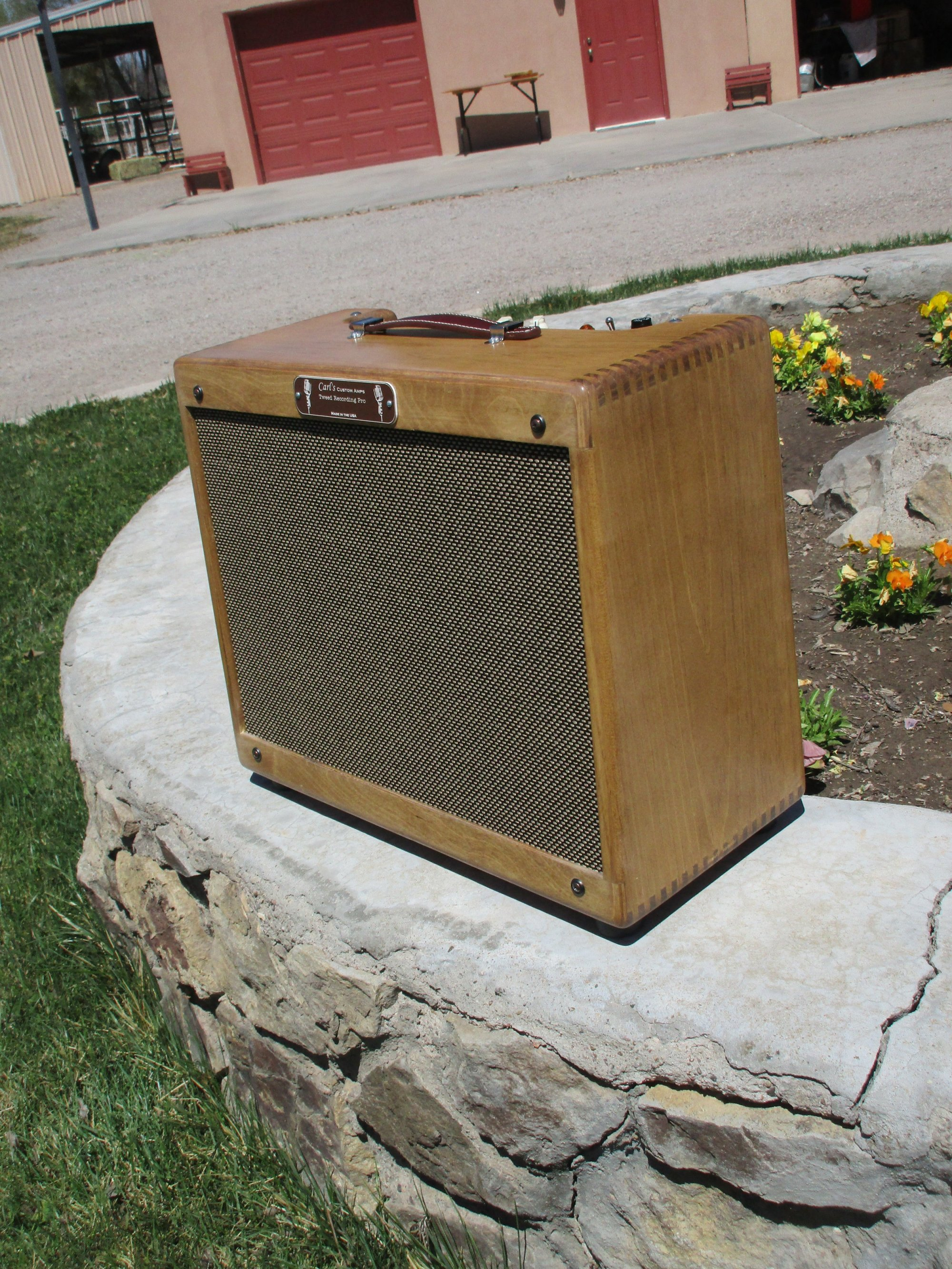 hight resolution of here s tweed recording pro but got nice satin finish with a walnut stain