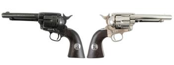 John Wayne Duke Colt SAA BB and Pellet Revolver Table Top