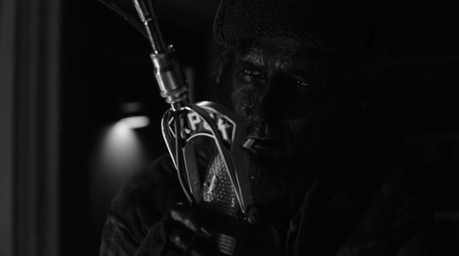 The black-faced woodsman delivers his tranquilizing poem in Twin Peaks: Season 3 (2017)