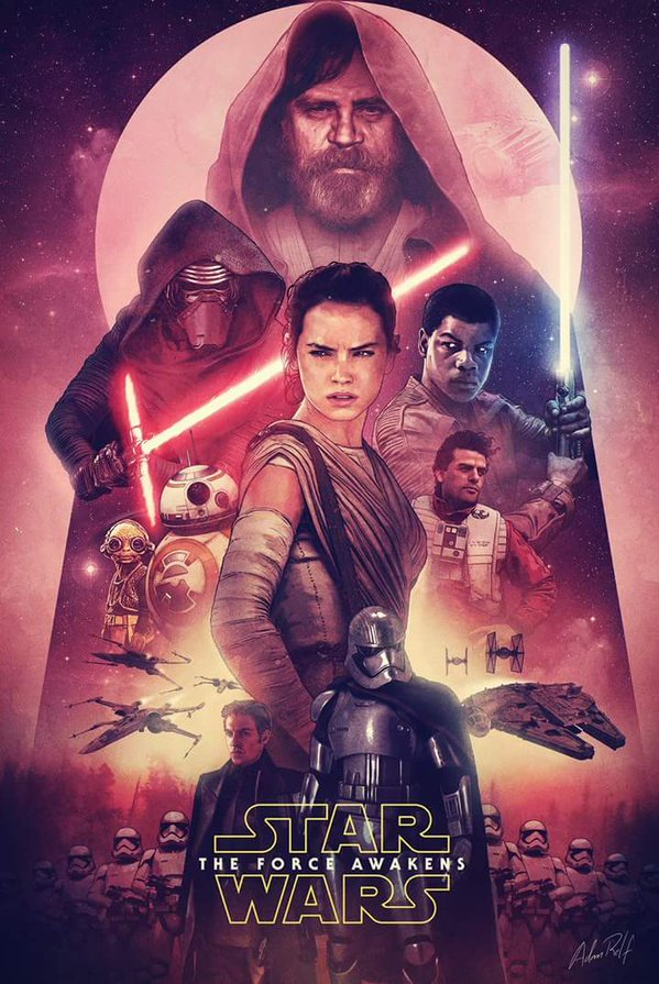 fan poster for star wars the force