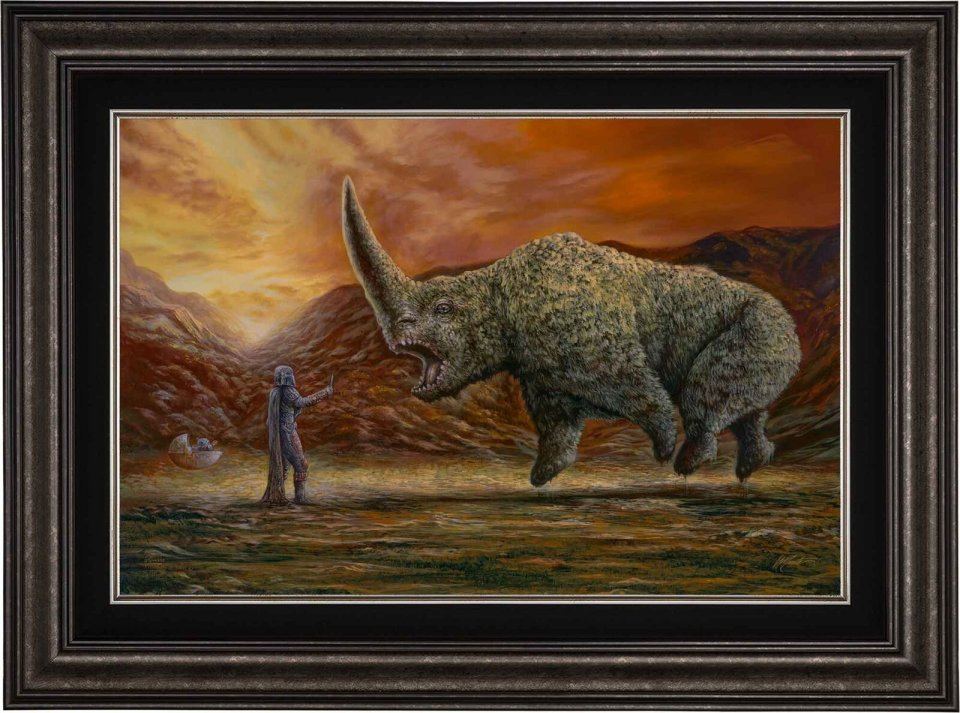 The Mandalorian - The Mudhorn Limited Edition Canvas.jpg