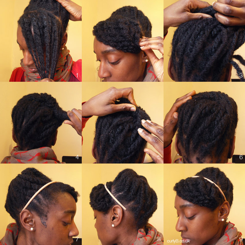 Yes You Can 4c That Style Style 001 The Loose Twist Beehive