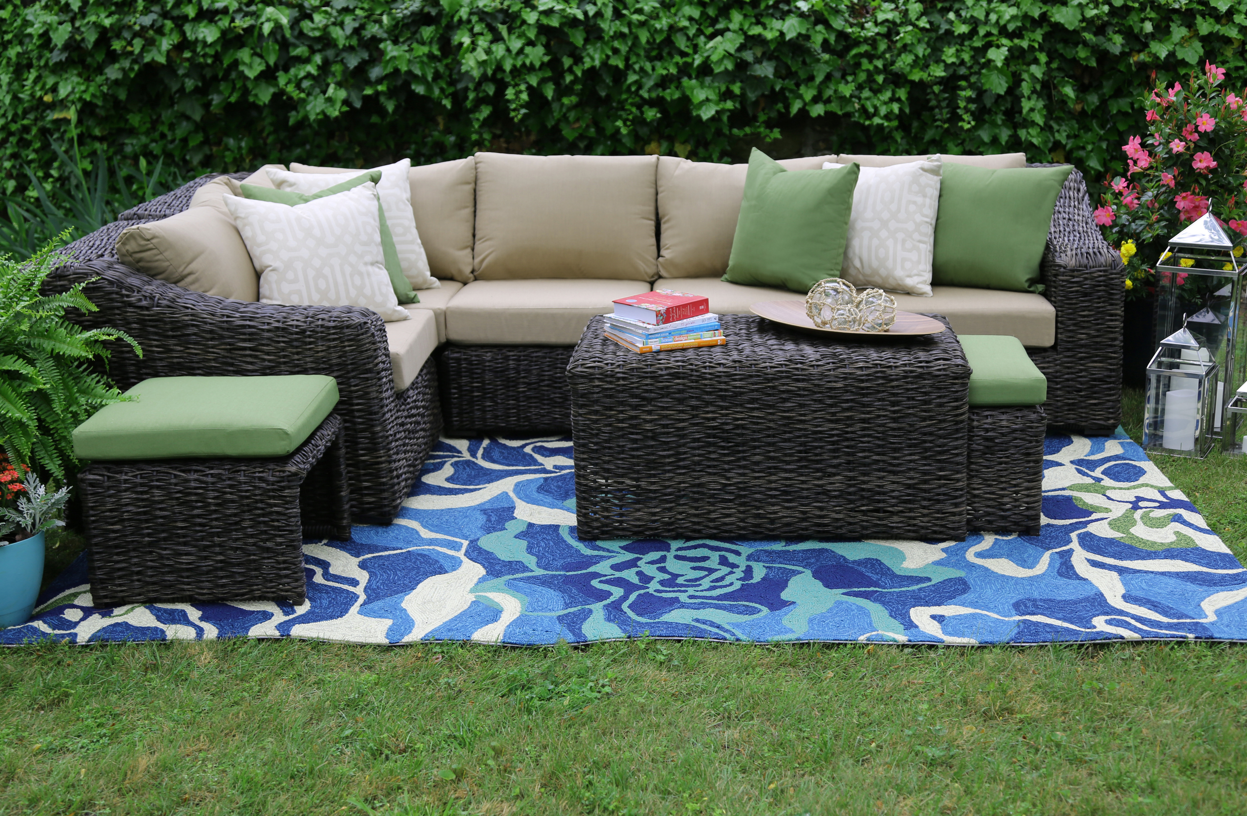williams 8pc sectional ae outdoor
