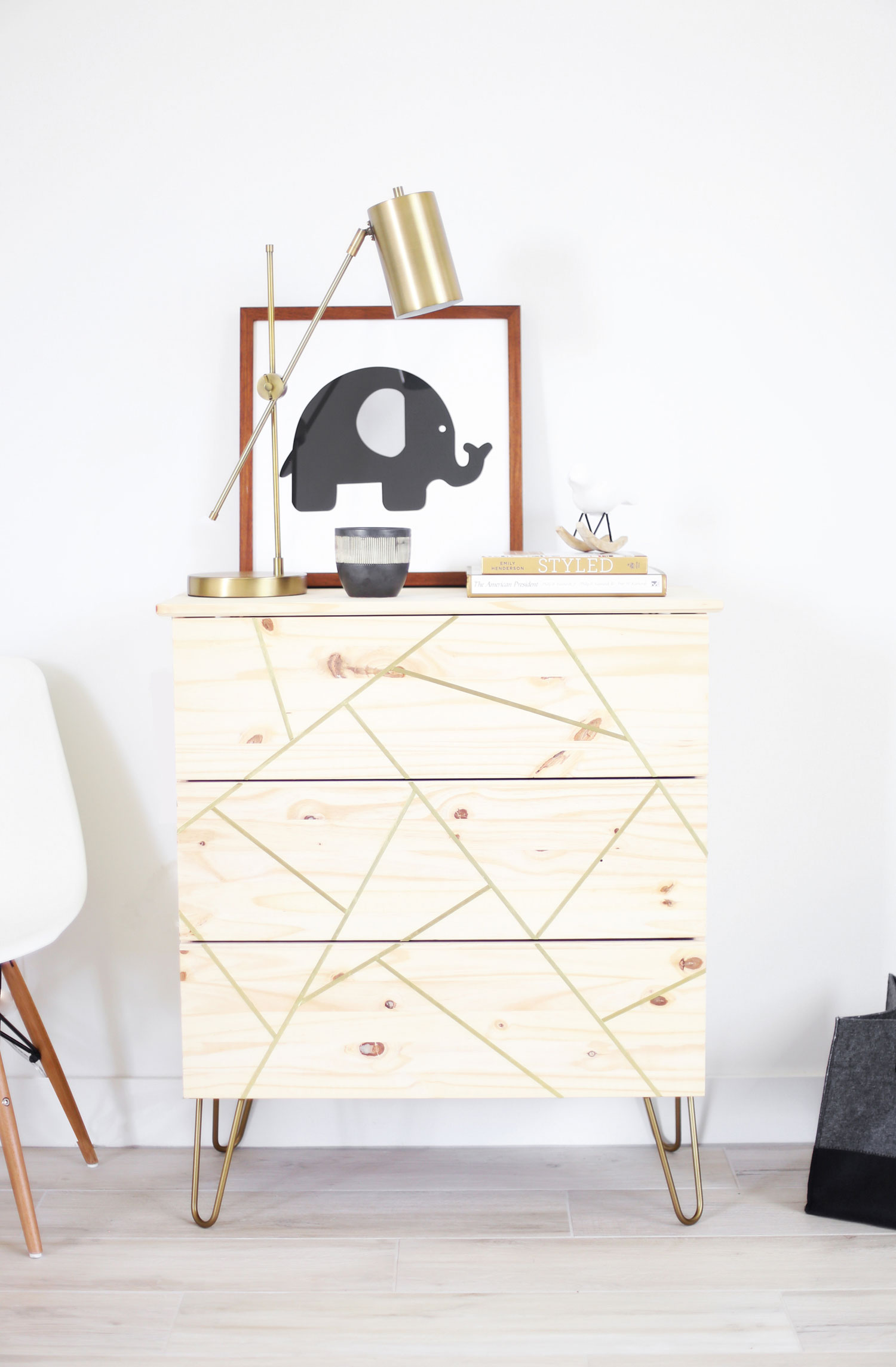 Mid Century Modern Ikea Hack Dresser Kristi Murphy Diy Blog
