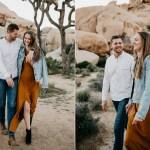 Joshua Tree National Park Engagement Session Luke And Mallory Portland Wedding Photographer