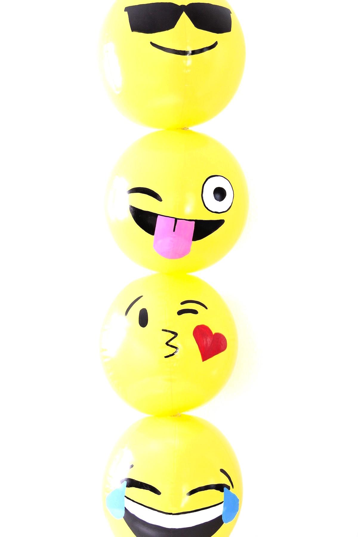 Beach Ball Emoji : beach, emoji, EMOJI, BEACH, BALLS