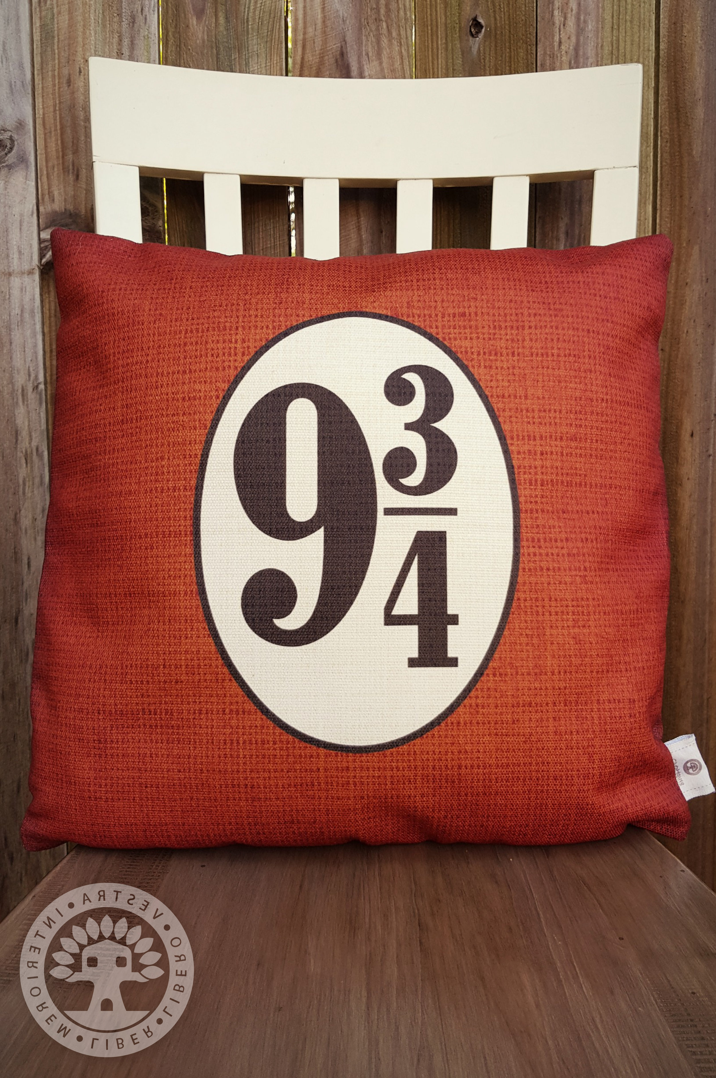 harry potter hogwarts express platform 9 square pillowcase clubhouse collective