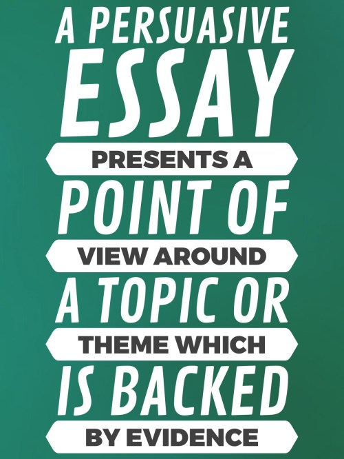 small resolution of How to write a persuasive essay — Literacy Ideas