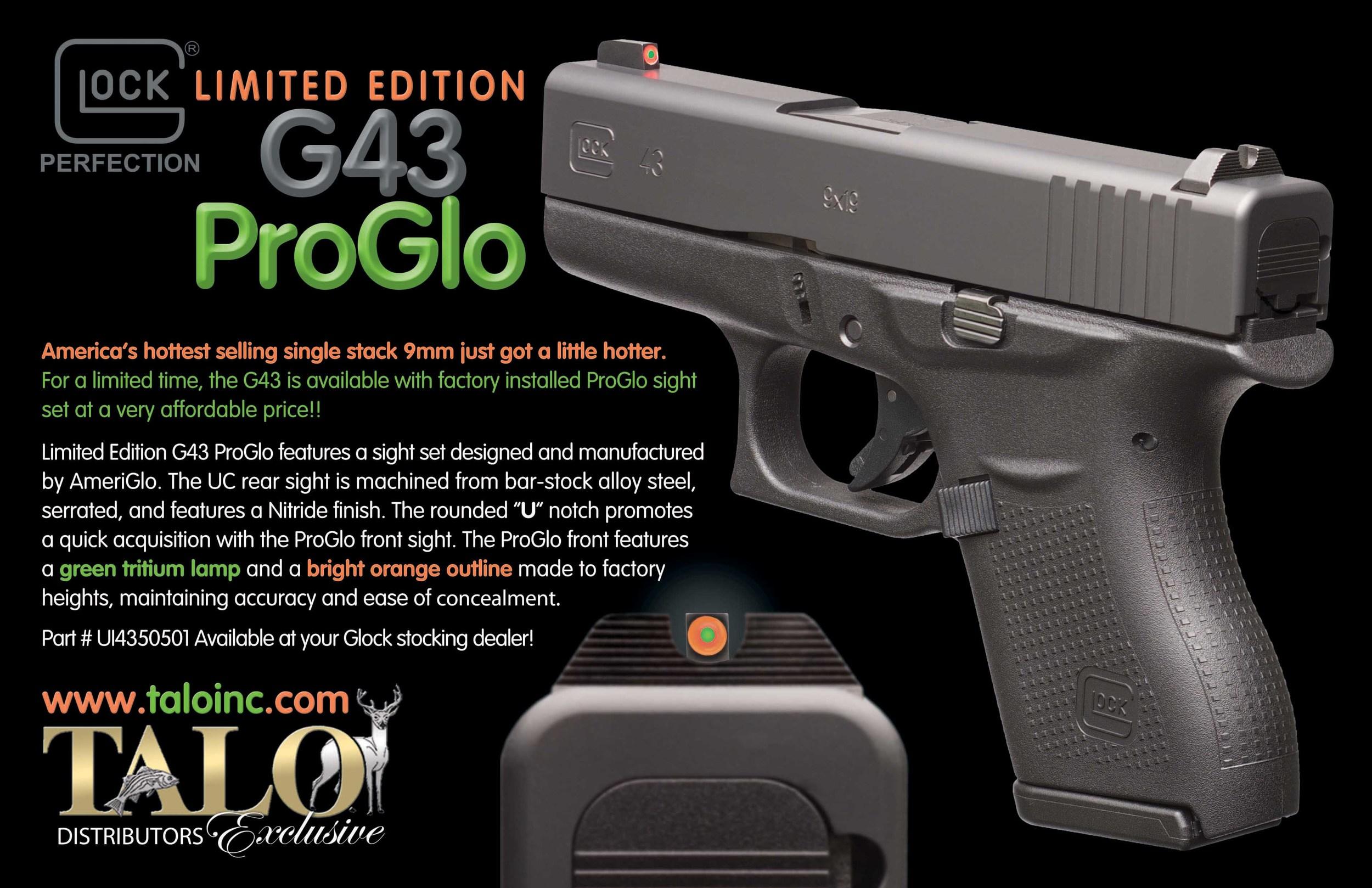 glock 43 glopro talo