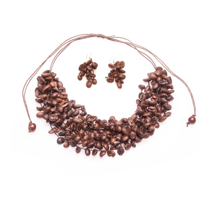 Image result for coffee bean jewelry