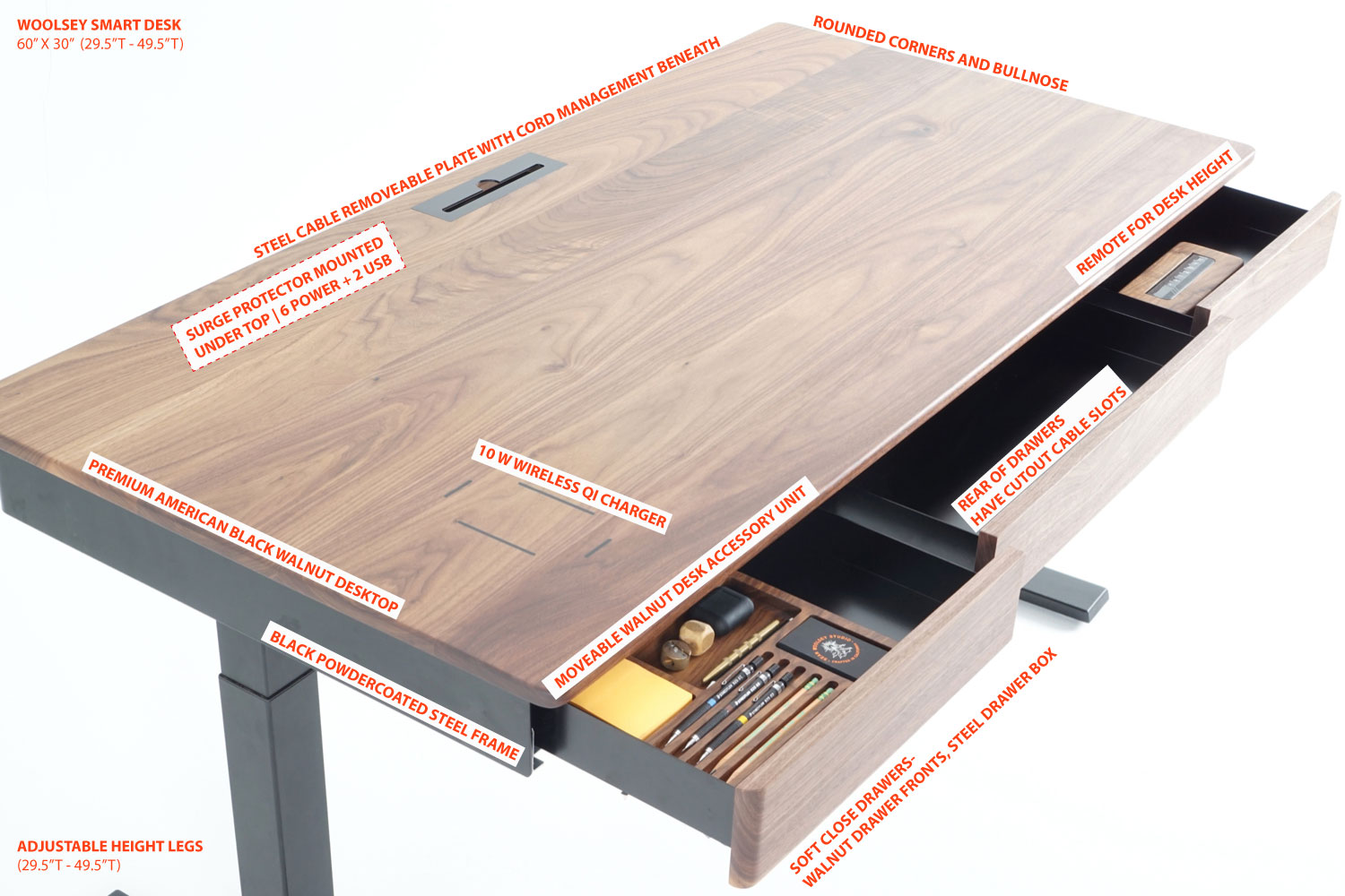 woolsey smart desk available