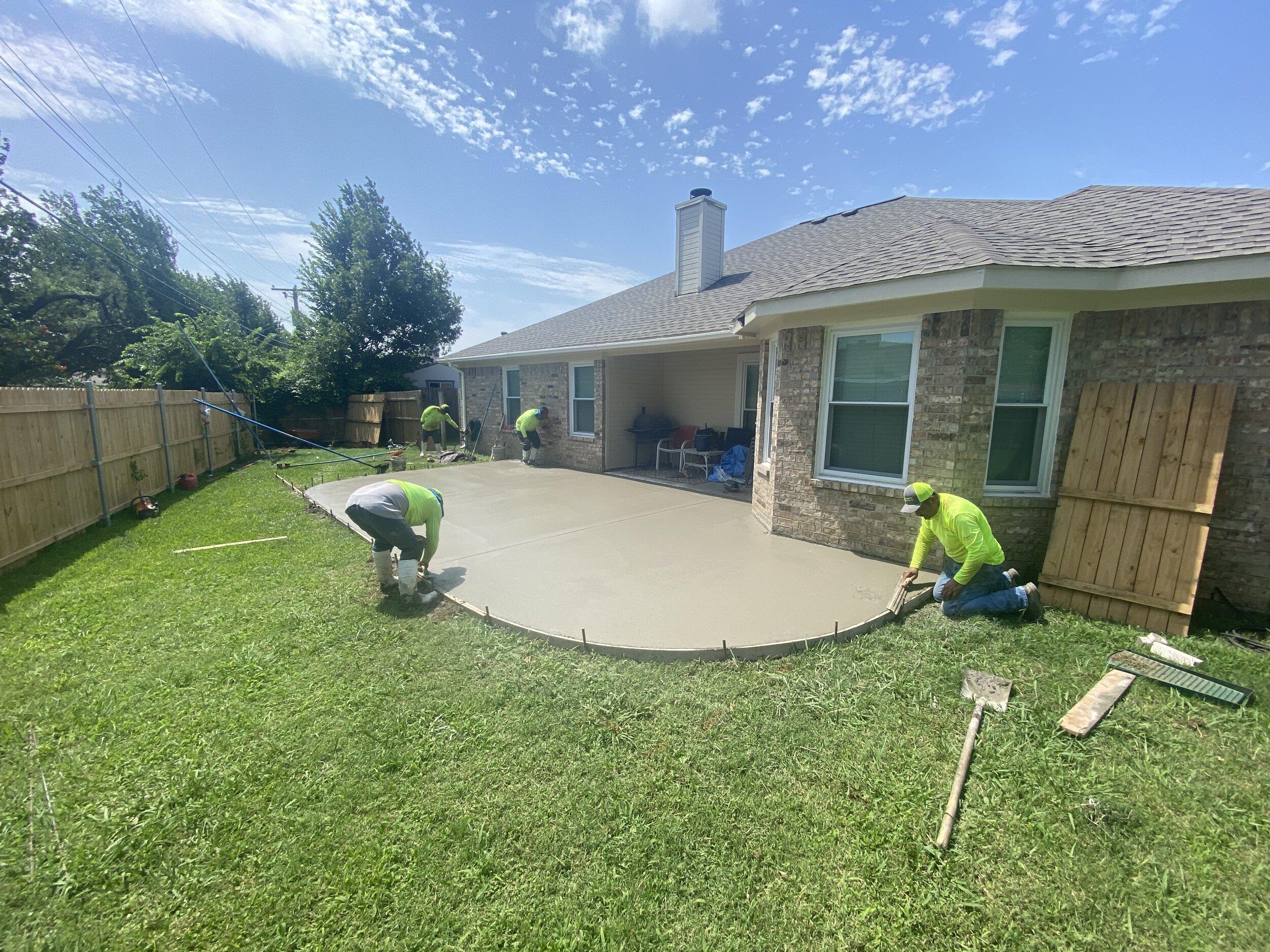 golf cart path construction mogotes