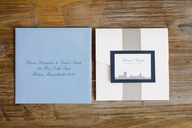 Trending Tuesday Boston Themed Wedding Invitations The