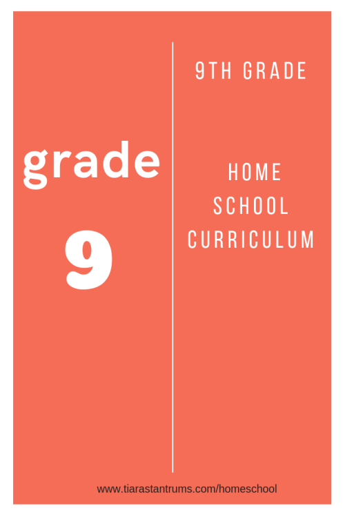 small resolution of 9th Grade Homeschool Curriculum — Tiaras \u0026 Tantrums