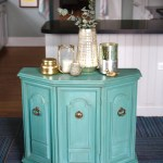 Combining Shades Of Blue And Green Chalk Paint A Simpler