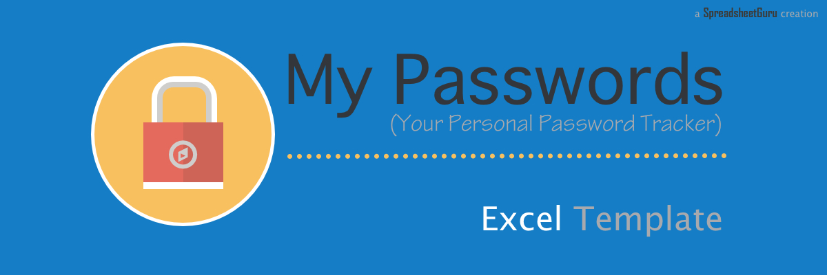 Do this to keep track of all the employee passwords. My Passwords Your Personal Password Tracker Log Thespreadsheetguru
