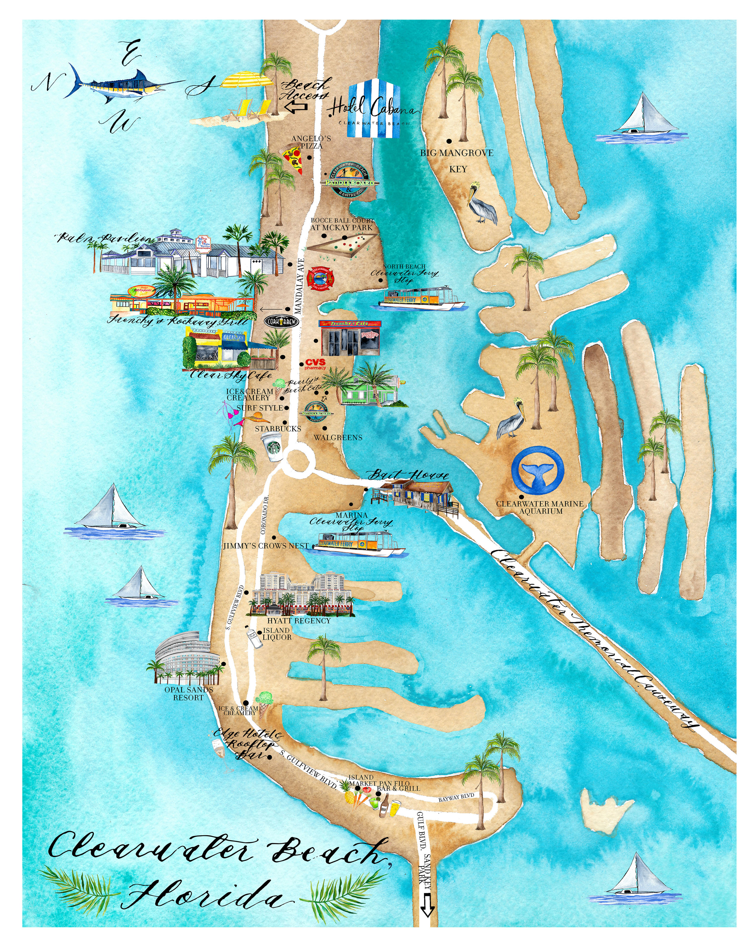 Map Of Clearwater Beach Hotels : clearwater, beach, hotels, BEACH, HOTEL, DESIGN, INSPIRATION, GILMORE, LUXURY, INTERNATIONAL, INTERIOR, DESIGNER, TAMPA-NY-LA