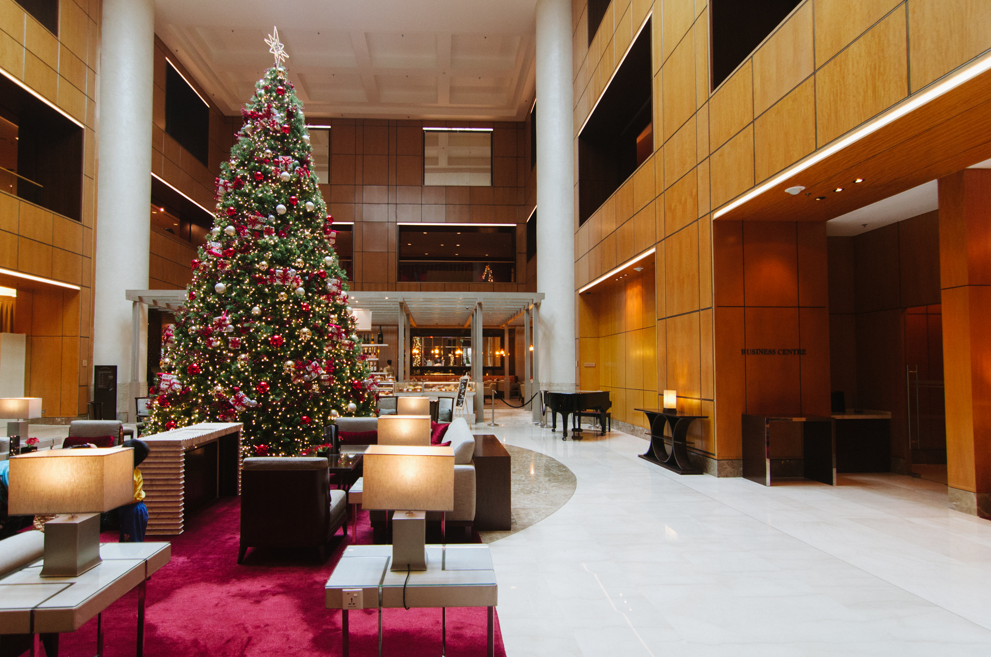Hotel Review Singapore Marriott Tang Plaza Hotel Executive