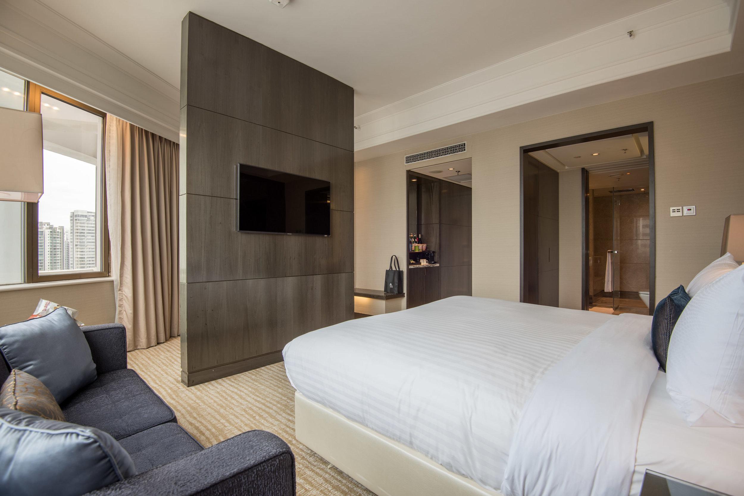 Hotel Review Singapore Marriott Tang Plaza Hotel Studio
