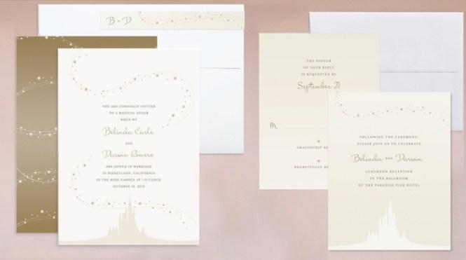 Enchanted Stars Wedding Invitation Suite Jody Worthington