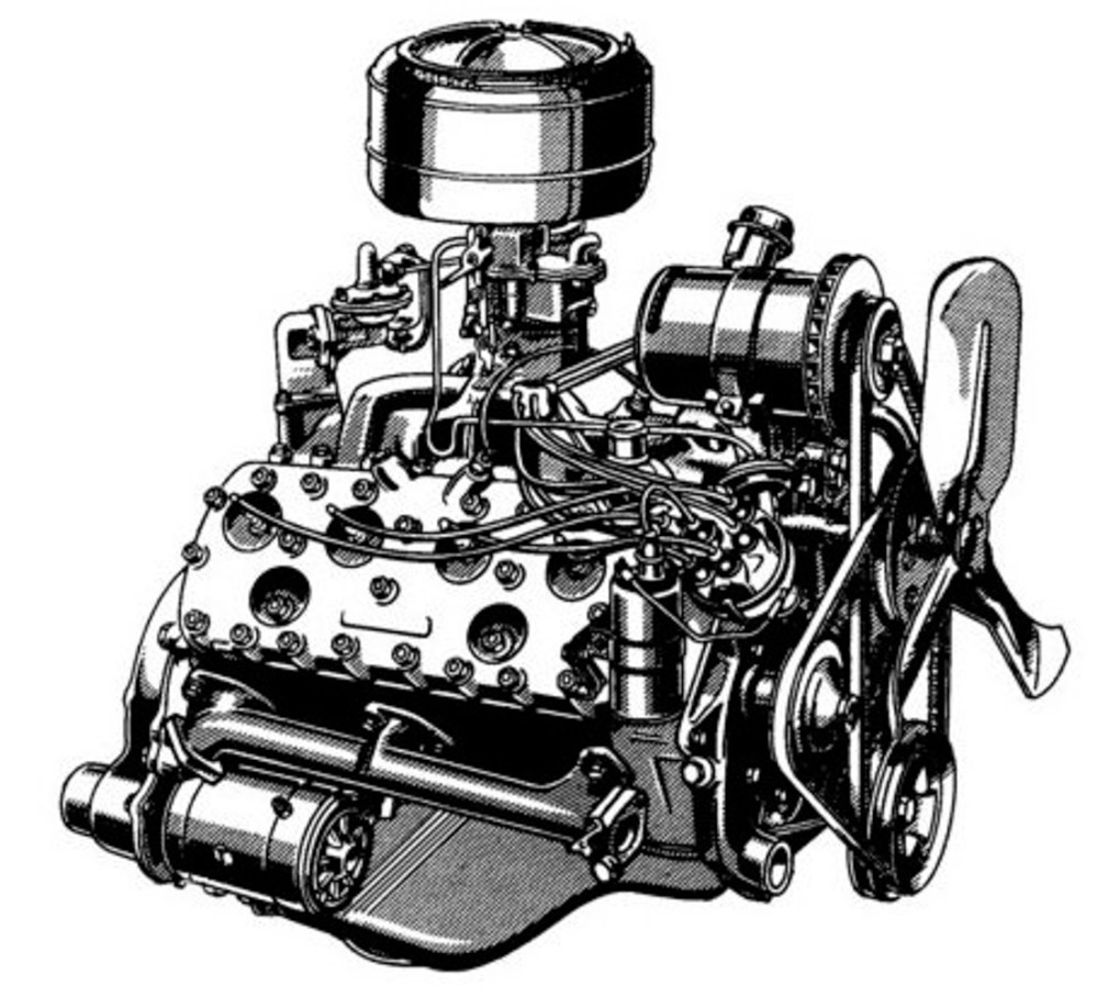 medium resolution of the pioneering flathead v8s did have their flaws though cracking was common as was oil starvation when turning the car around hard corners