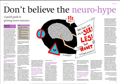 Article for Argument: Don't Believe the Neuro-hype — Scicommbobulate