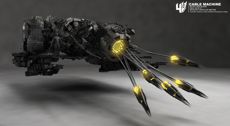 Transformers 4 Concept Art Lockdown
