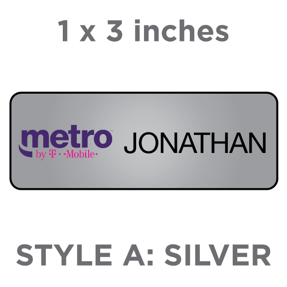 Metro By T Mobile Name Badges More Badgeworks Plus